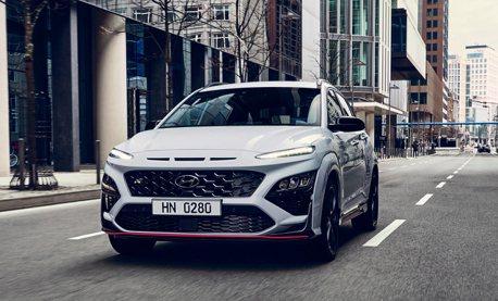 N Performance首款SUV、搶攻性能休旅級距 286匹馬力全新Hyundai Kona N磅礡亮相!