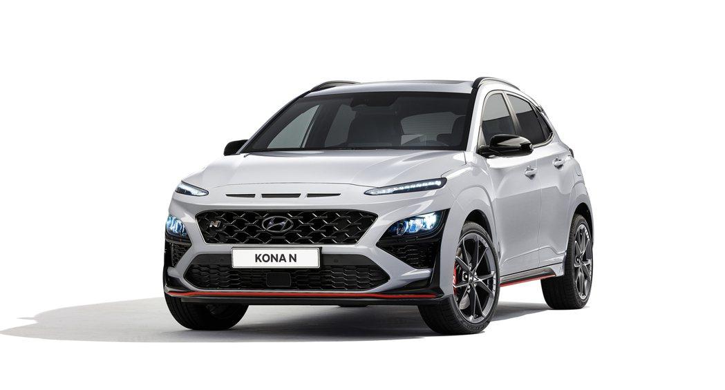 全新Hyundai Kona N。 摘自Hyundai