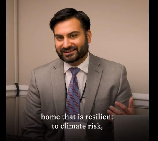白宮副氣候顧問柴迪(Ali Zaidi)。圖擷自The White House頻道影片