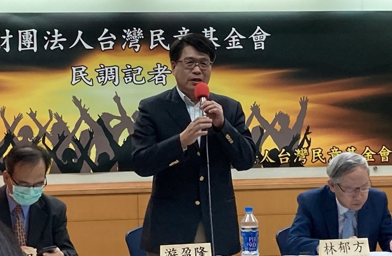 游盈隆認為,本次公投已經是跨越了性別、黨派與階級的公民運動。(Photo by 林志怡/台灣醒報)