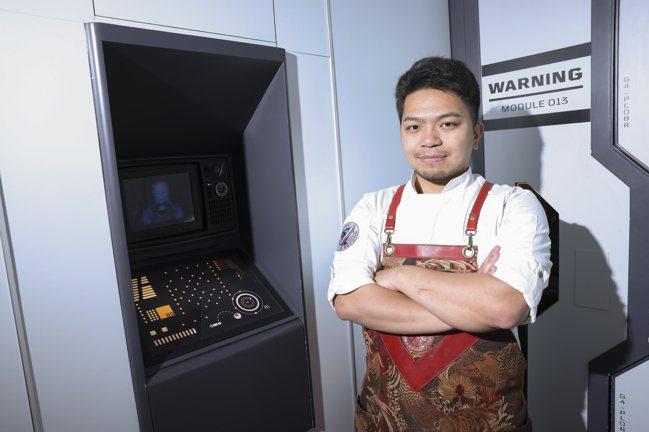 張哲瑋是國內非常出色的新生代調酒師。記者王聰賢/攝影