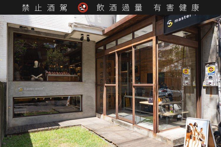 master-piece台北總店位於忠孝東路四段。圖/和心酒藏提供。提醒您:禁止...
