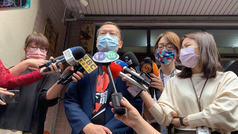 羅智強昨到台北地方法院聽宣判。記者賴佩璇/攝影