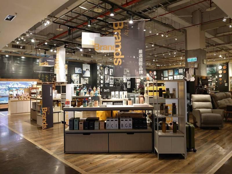 HOLA內湖旗艦店改裝後全新開幕。圖/HOLA提供