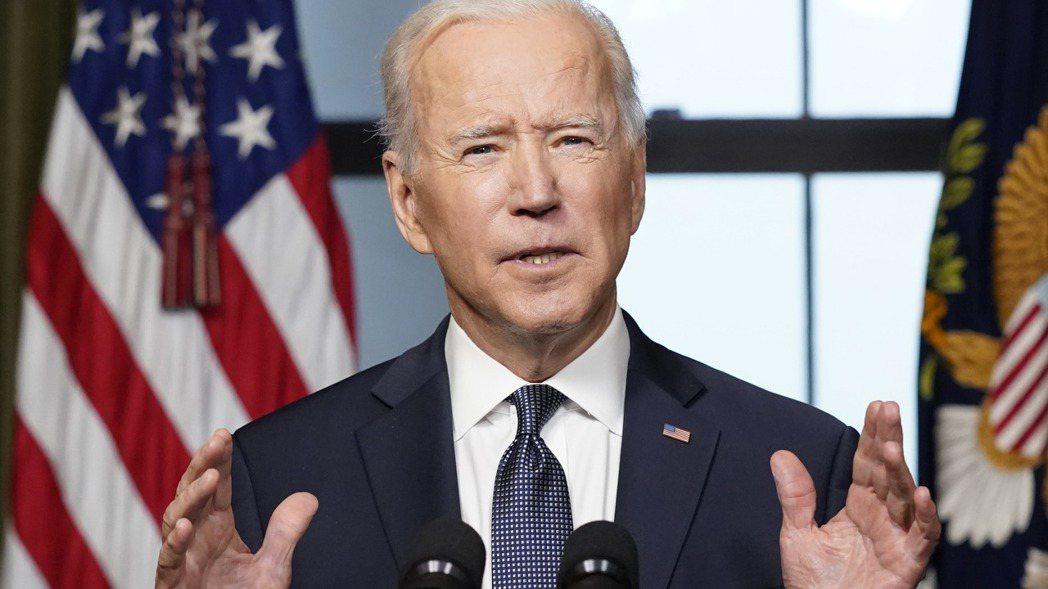 美國總統拜登上任本周將屆滿百日。美聯社