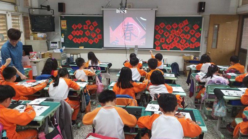 南投縣國小新生人數預估增加500多人,可望減輕學校招生壓力。圖/南投縣政府提供