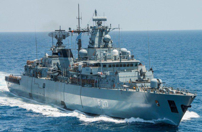 德國將於8月派遣布蘭登堡級巡防艦「拜仁號」(the frigate Bayern)前往印太地區,並通過南海。圖/取自歐盟官網