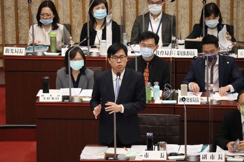 高雄市長陳其邁。本報資料照片