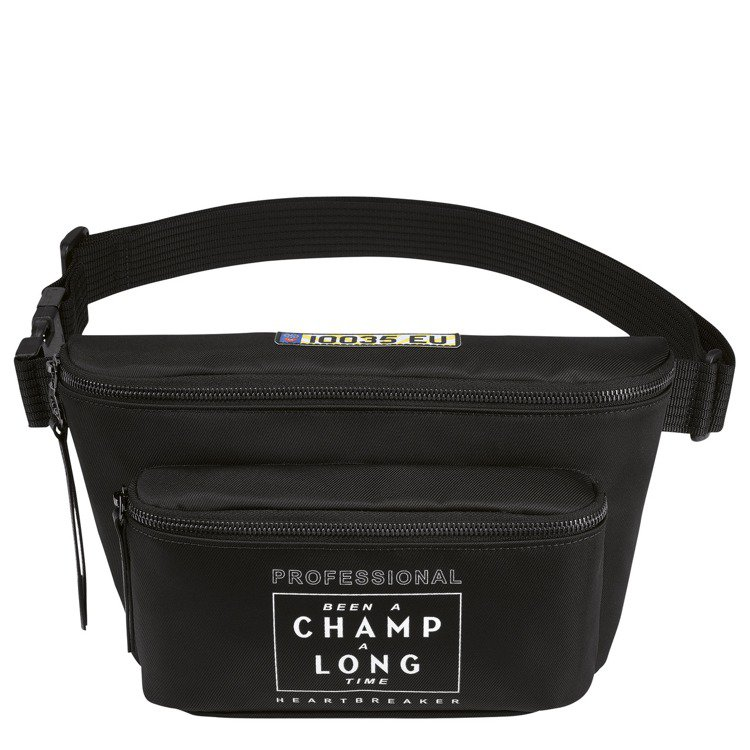 LONGCHAMP x EU聯名Le Pliage Cuir尼龍腰包,10,00...