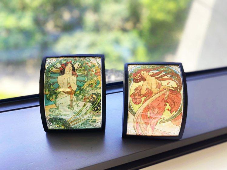 誠品生活expo推出慕夏主題聯名設計商品。圖/誠品提供