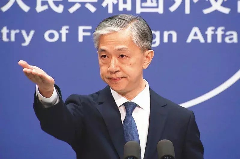 中國大陸外交部發言人汪文斌。圖/美聯社