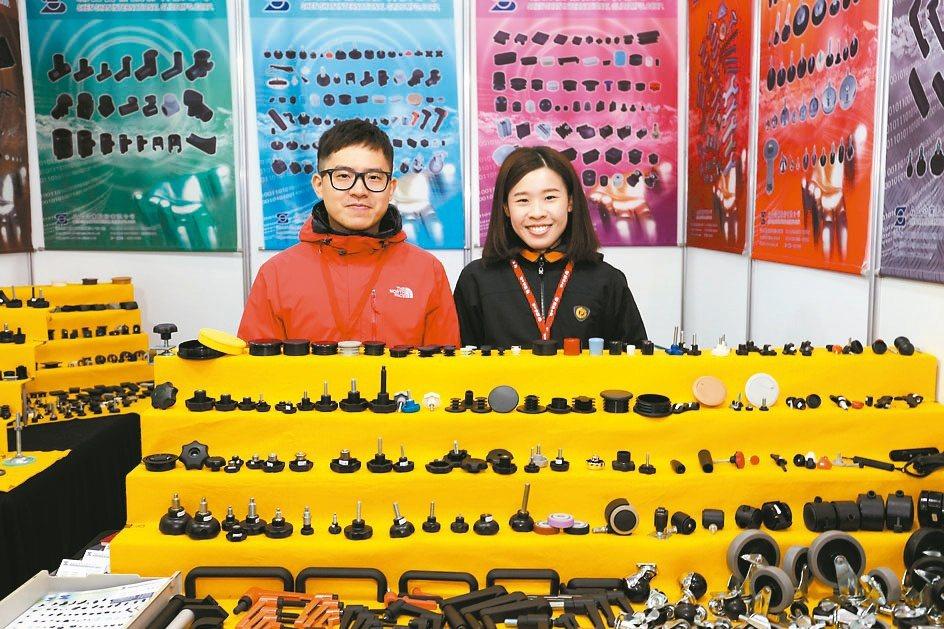 森山五金產品多元,滿足客戶需求。黃奇鐘/攝影