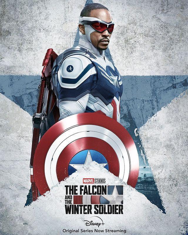 漫威公布「獵鷹」接手「美國隊長」的造型。圖/摘自Instagram