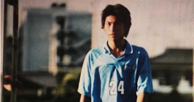 AKIRA以前是個足球少年。圖/LDH提供