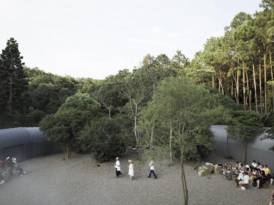 第17屆威尼斯建築雙年展台灣館「勤美學—森大」基地空間。圖/自然洋行提供