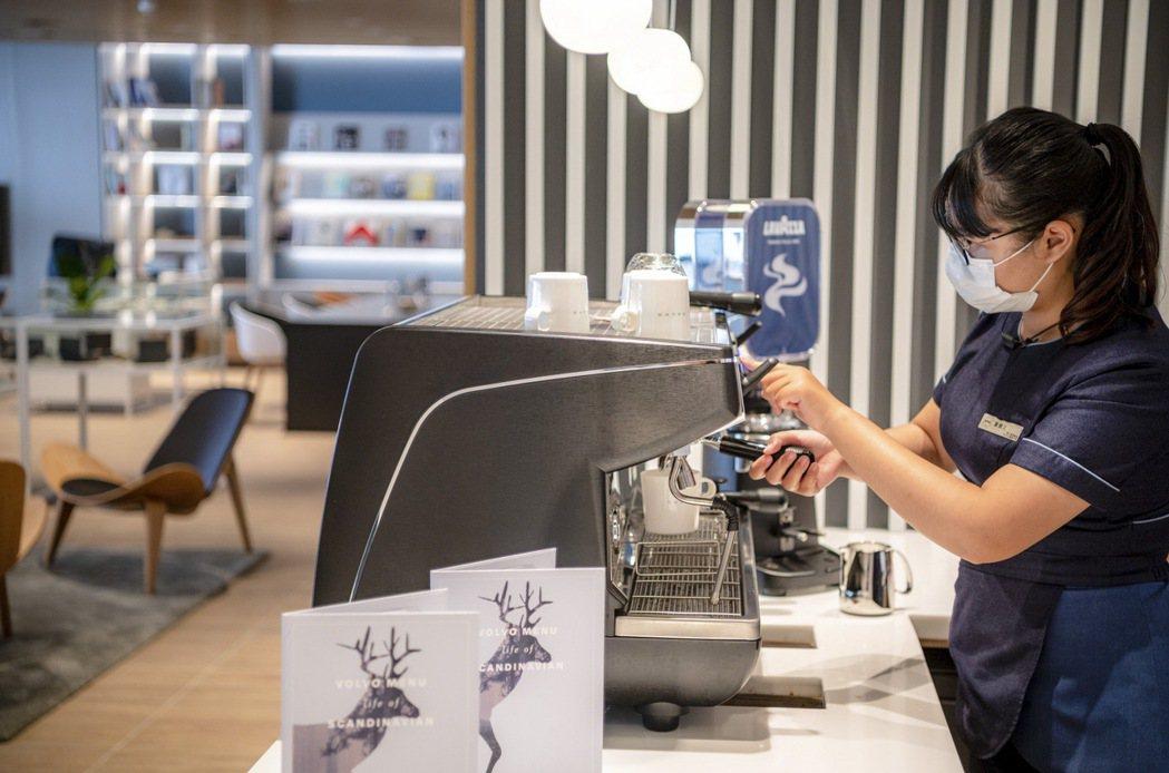 匯勝嘉義為全台首間啟用全球第三大咖啡烘焙商 LAVAZZA 咖啡豆之 VOLVO...