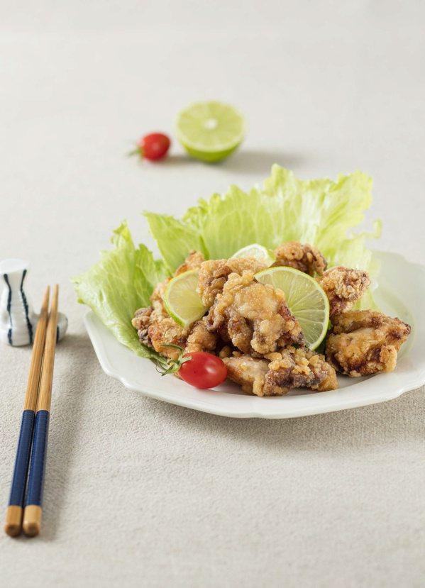 主菜:唐揚炸雞。 圖/幸福文化 提供