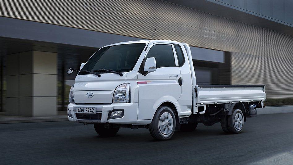 Hyundai Porter成為韓國三月國產車銷售冠軍。 摘自Hyundai