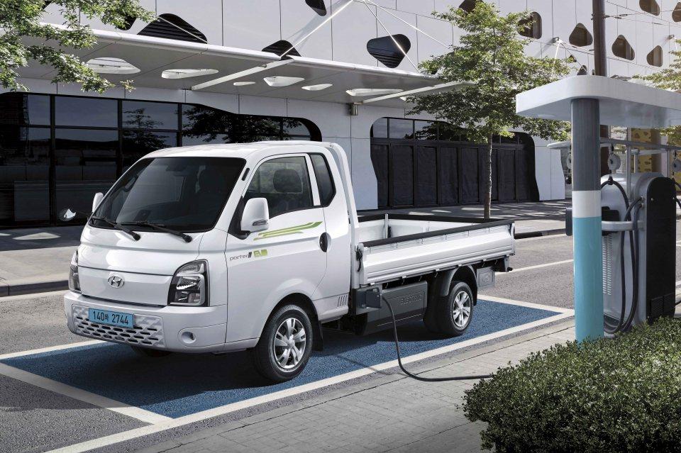 Hyundai Porter暌違了21個月後,單月再度賣破1萬輛!圖為Porte...