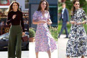 凱特王妃穿搭用4招做出「 高級感」!牛仔褲、針織衫...襯衫式洋裝最能穿出優雅貴族風!