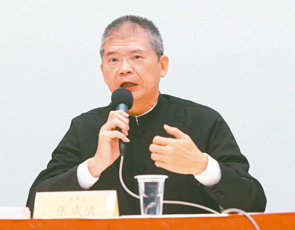 中光電董事長張威儀(本報系資料庫)
