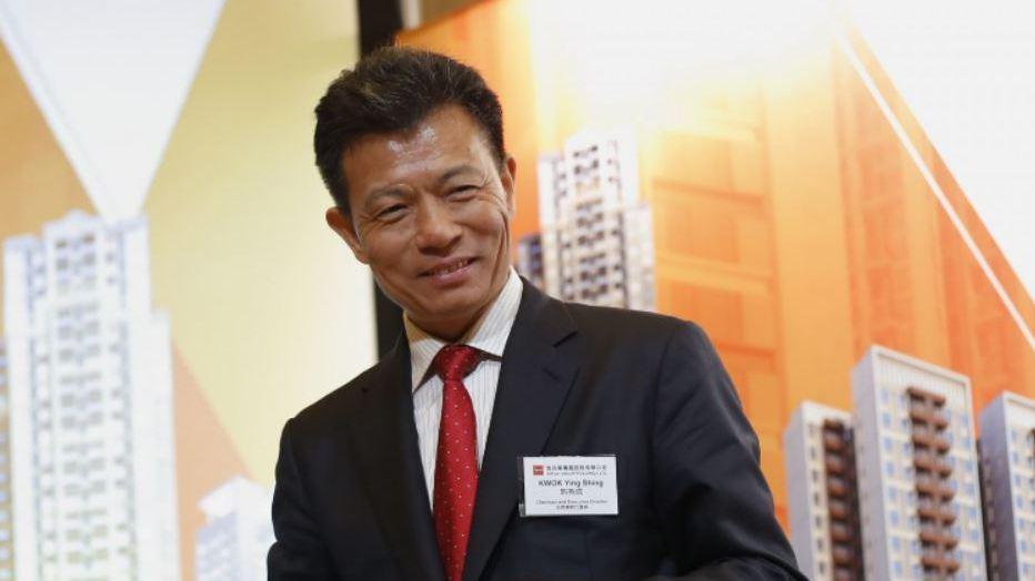 佳兆業集團創辦人郭英成。彭博資訊