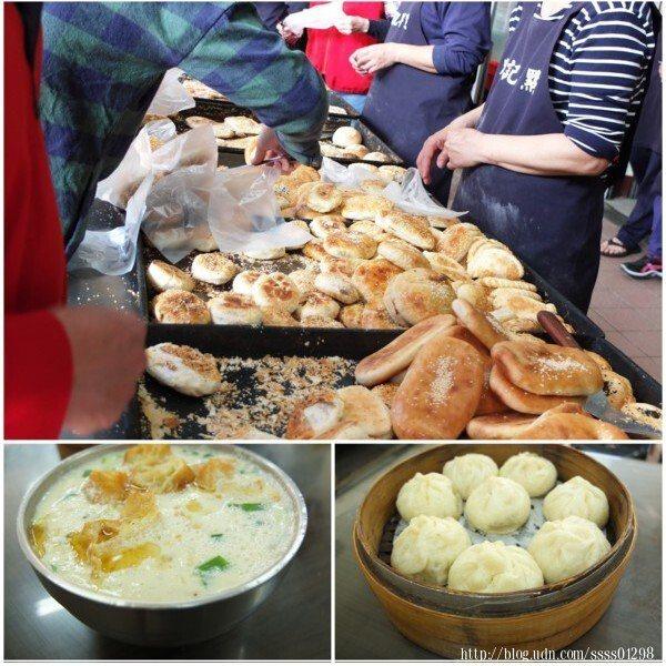 販售各種傳統眷村味美食如酥餅、燒餅、大餅...等,紮實皮厚又多汁的小籠包和溫熱有料的鹹豆漿同為招牌。