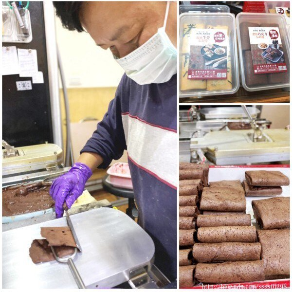 將自家美味肉酥夾在酥脆餅皮裡,呈現出很新奇的味蕾感受,提供送禮的新選擇。