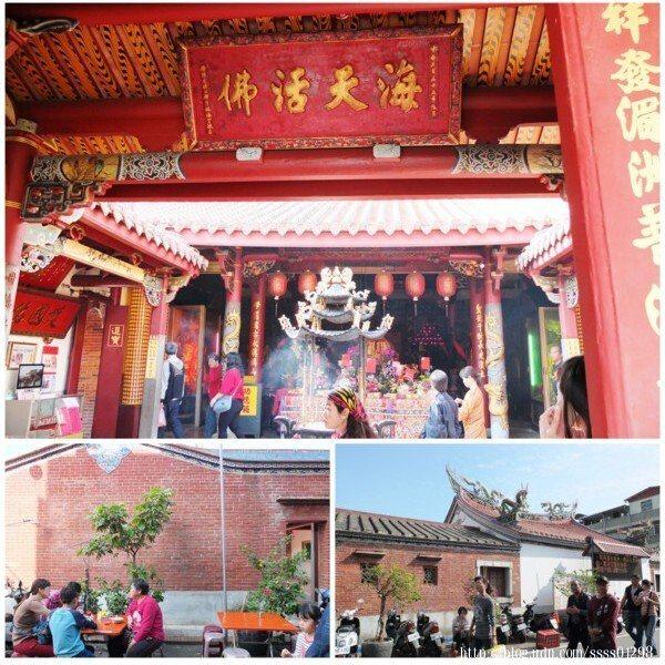 長年香火鼎盛的旗山天后宮也是旗山地區目前僅存唯一一座清代建築廟宇。