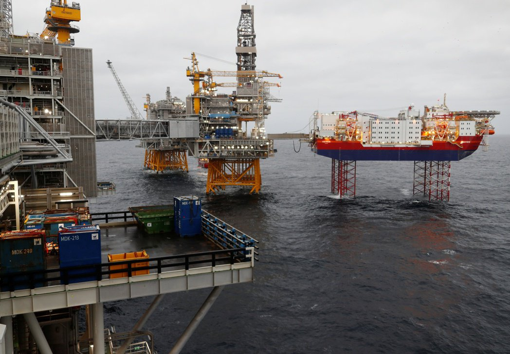 挪威政府將在沿岸推動碳捕捉計畫。圖/路透