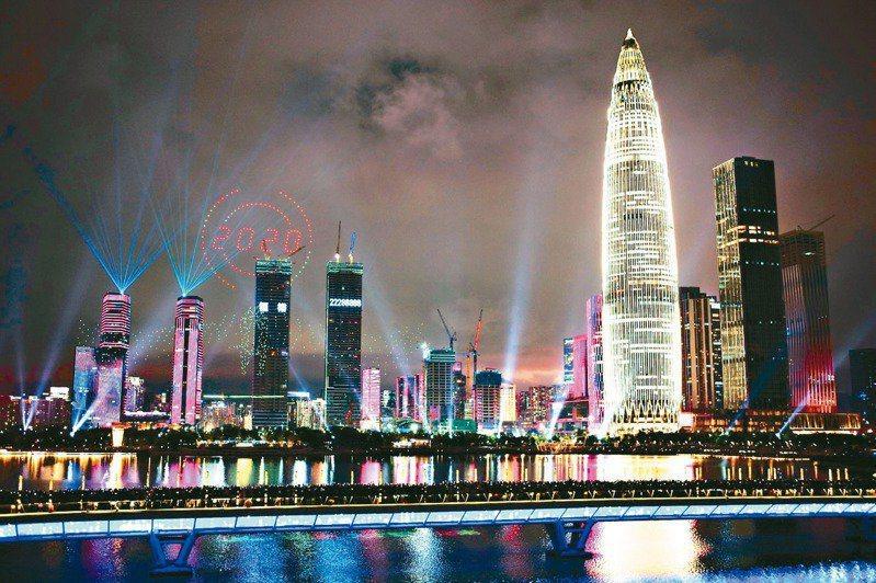 深圳五年發展藍圖出爐:超越首爾 GDP將達4兆人民幣。中新社