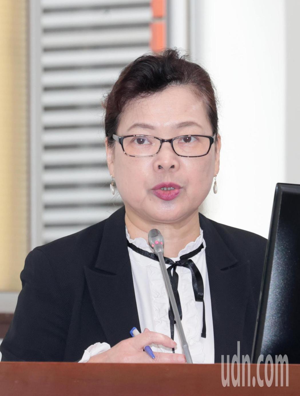經濟部長王美花表示台積電曾提過,先進的製程仍會以台灣為主要基地。記者蘇健忠/攝影