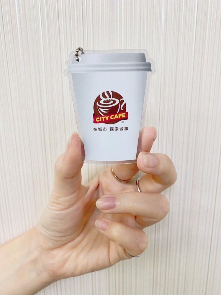 愛金卡公司推出「CITY CAFE icash2.0造型軋型卡」,每卡售價150...