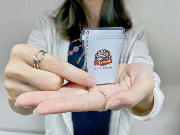 愛金卡公司推出「CITY CAFE icash2.0造型軋型卡」,內含CITY ...