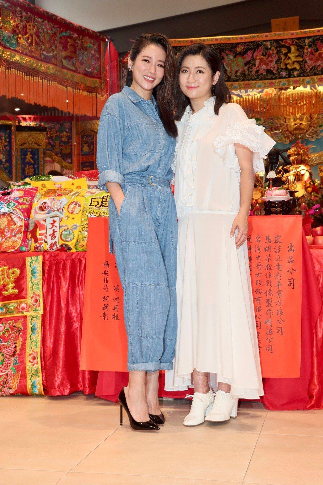 高宇蓁(左)和Selina(右)演姐妹。記者李政龍/攝影