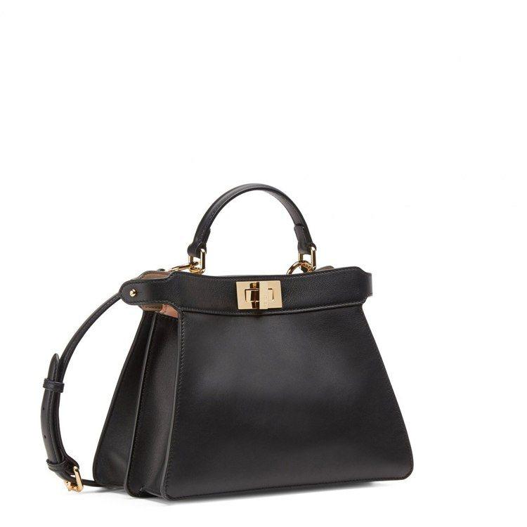 FENDI黑色Peekaboo ISseeU Small手袋,13萬5,000元...