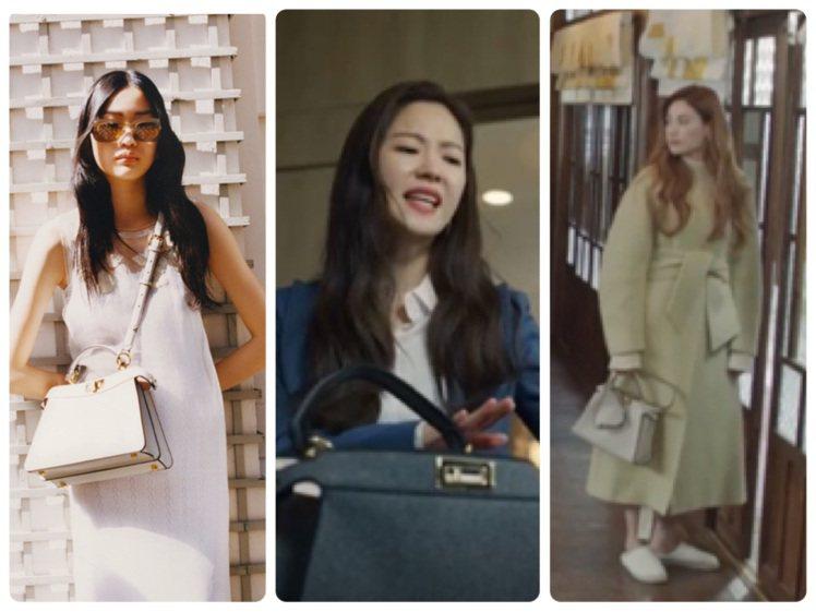 FENDI Peekaboo系列是韓劇最愛包款之一,近期Peekaboo Ise...