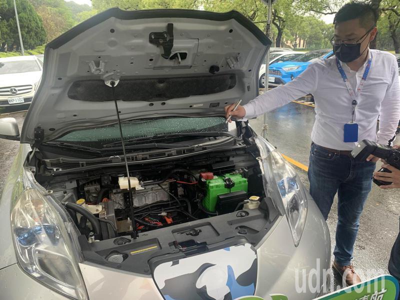 本土公司所開發的電動車二速傳動箱產品,可以提升車輛動力輸出效率。記者巫鴻瑋/攝影