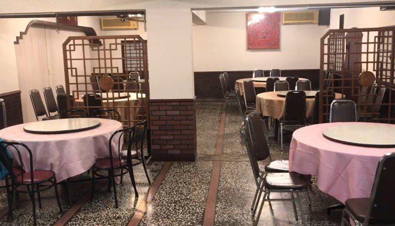 開業86年的台菜餐廳國富飯店受疫情影響,吹起熄燈號,將營業到本月底。記者游明煌/翻攝