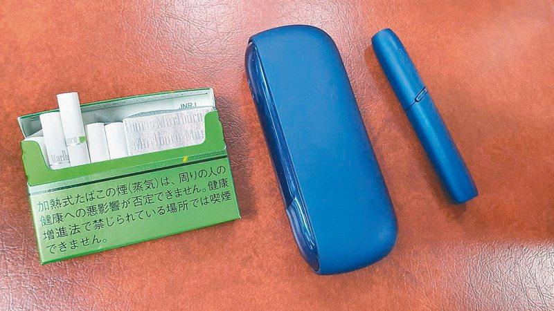 北市制定「新興菸品管理自治條例」草案,全面禁售電子煙,並納管加熱菸。記者楊正海/攝影