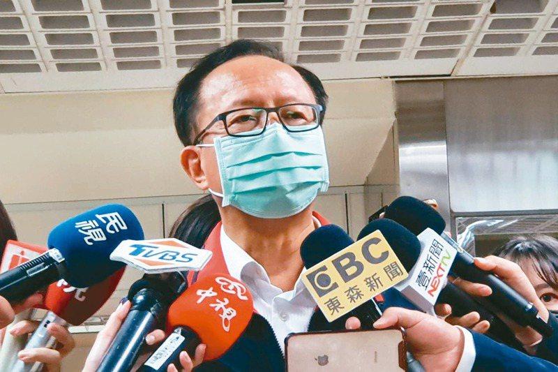 台北市警察局長陳嘉昌昨表示,已自請處分。  記者楊正海/攝影