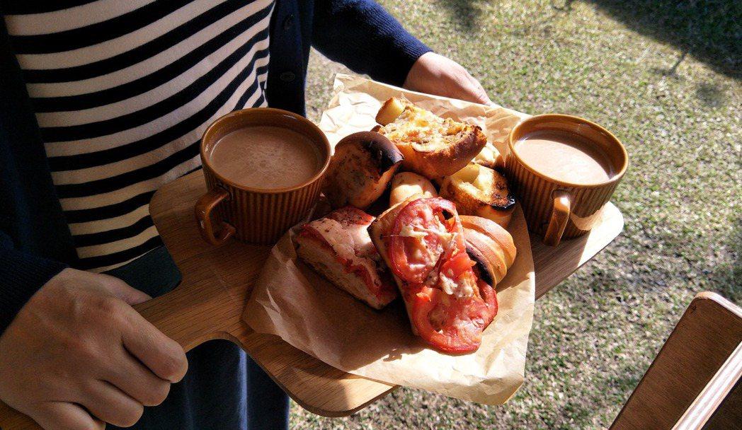 一日三餐在山上對許多人來說是一種新的學習。 圖/藍偉華提供
