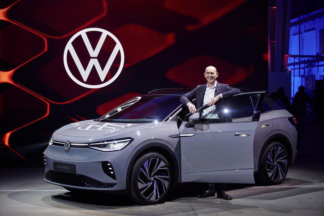 全新Volksawgen ID.4 GTX。 摘自Volkswagen