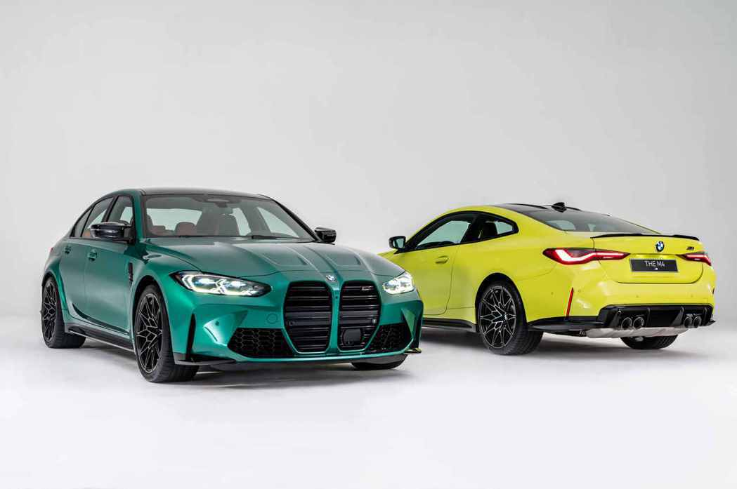 全新BMW M3 Competition與M4 Competition,在台狂傲...
