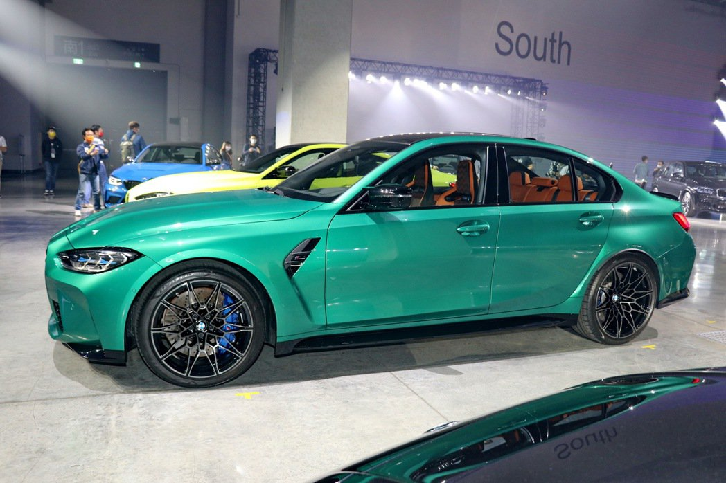全新BMW M3 Competition。 記者陳威任/攝影