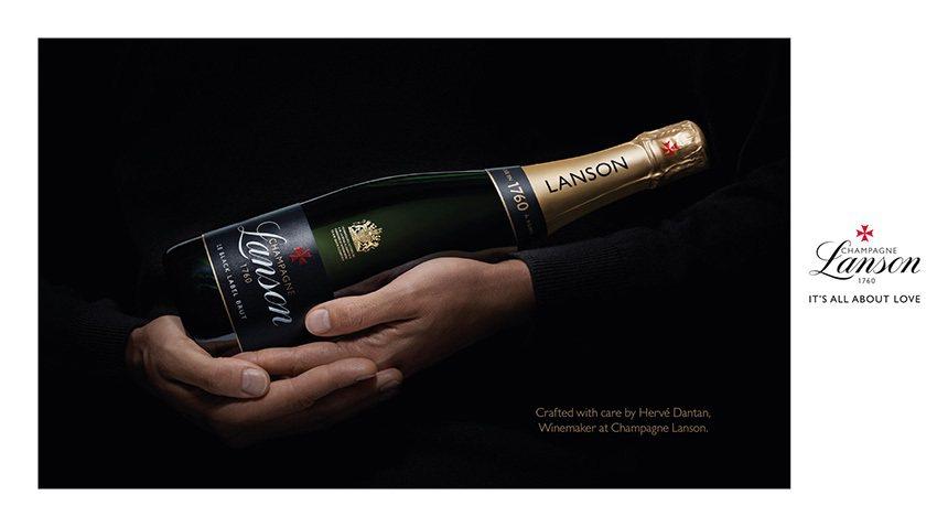 法國蘭頌黑牌香檳0.75L,建議售價1,950元。橡木桶洋酒/提供