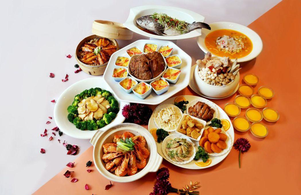 台南大飯店-馨光閃耀桌宴料理。  台南大飯店/提供