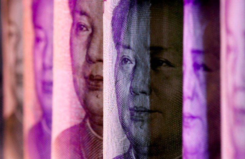 人民幣兌美元匯價,近期再創新高。 路透