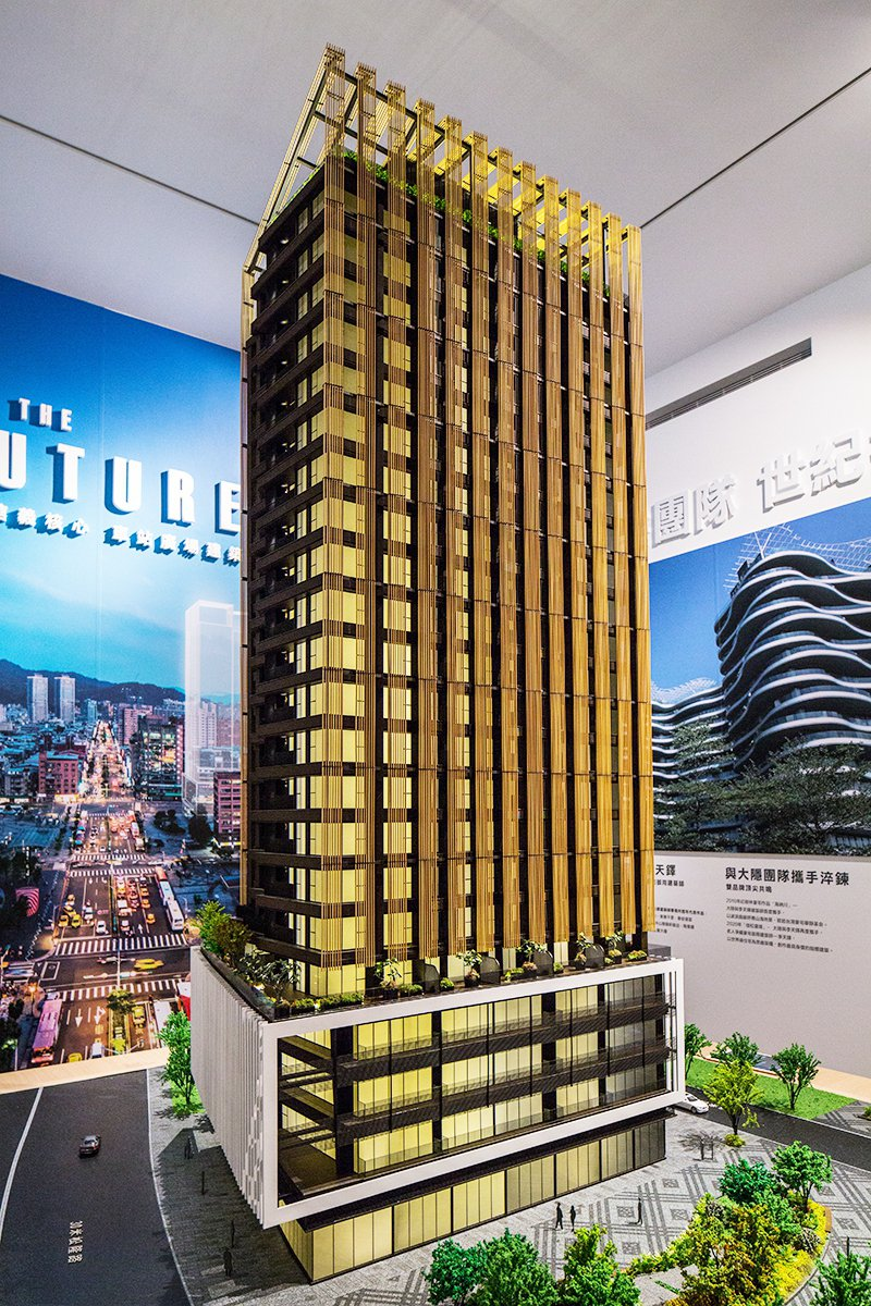 信松廣場【新創OFFICE】推出挑高4米、SOHO小坪數新型態商辦。 業者/提供