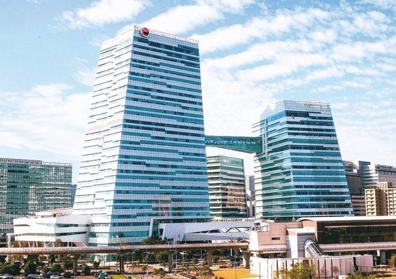 中信金控南港總部。 圖/聯合報系資料照片